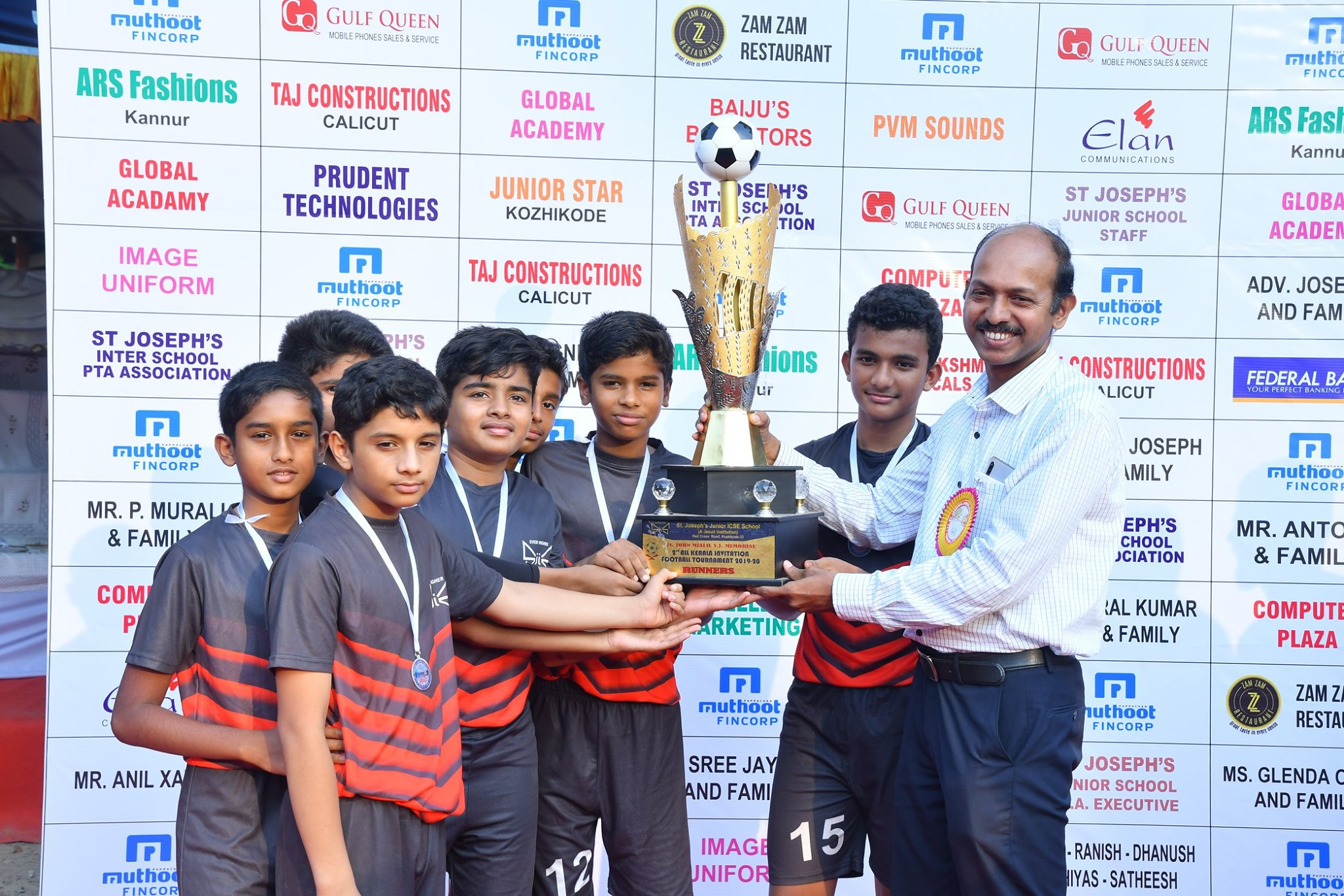 Football tournament - Runner-up