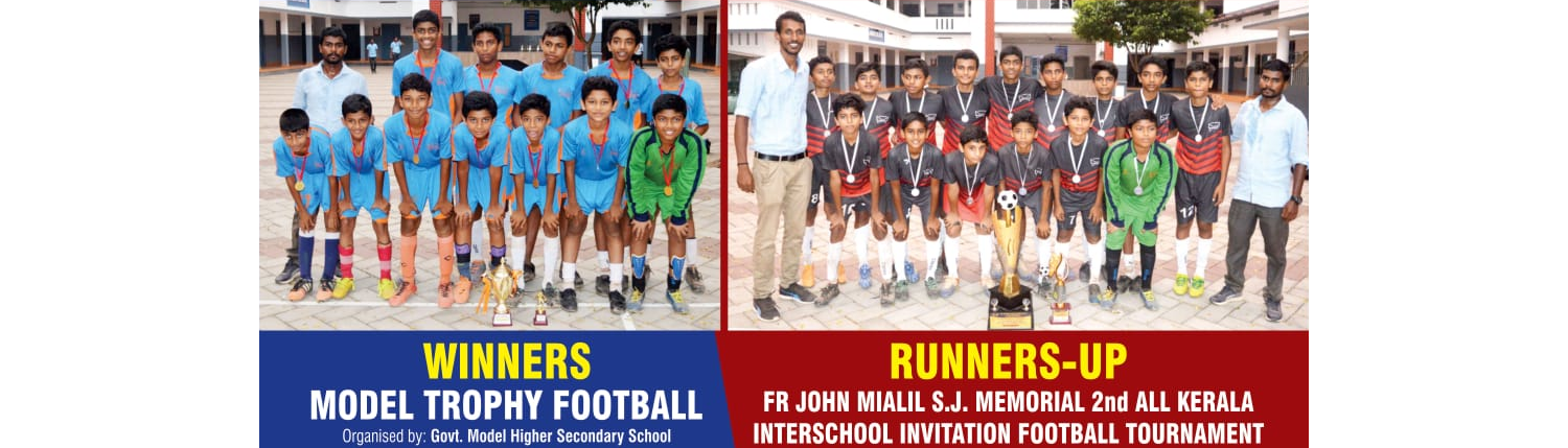 Congratulations to St.Joseph's Junior ( ICSE ) School Football teams
