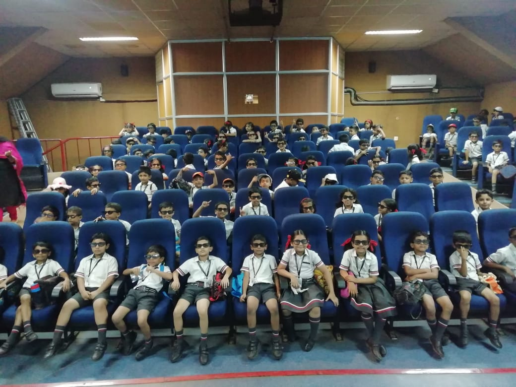 Planetarium Visit by Std 1 and 2